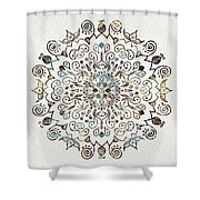 Mandala Earth And Water 4 Shower Curtain