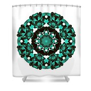 Mandala Image #5 Created On 2.26.2018 Shower Curtain