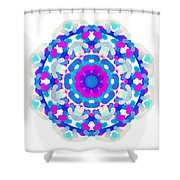 Mandala Image #7 Created On 2.26.2018 Shower Curtain