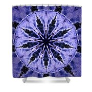 Mandala Ocean Wave Shower Curtain