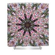 Mandala Of Cherry Blossom Shower Curtain