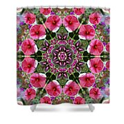 Mandala Pink Patron Shower Curtain