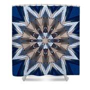 Mandala Sea Star Shower Curtain