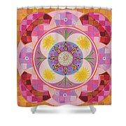 Mandala - Seeds Shower Curtain