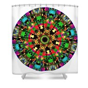 Mandala - Talisman 1104 - Order Your Talisman. Shower Curtain