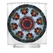 Mandala - Talisman 1112 - Order Your Talisman. Shower Curtain