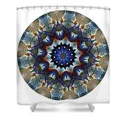 Mandala - Talisman 1120 - Order Your Talisman. Shower Curtain