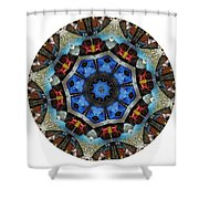 Mandala - Talisman 1124 - Order Your Talisman. Shower Curtain
