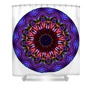 Mandala - Talisman 1405 Shower Curtain