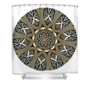 Mandala - Talisman 1434 Shower Curtain