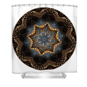 Mandala - Talisman 1444 Shower Curtain