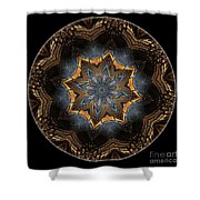 Mandala - Talisman 1445 Shower Curtain