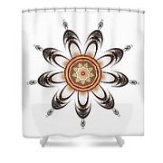 Mandala - Talisman 1630 Shower Curtain