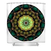 Mandala - Talisman 853 For Those Born In 1957 Shower Curtain