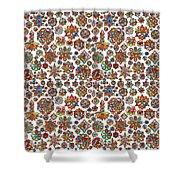 Mandala Traditional Design Shower Curtain