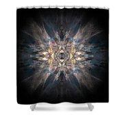 Mandala171115-3259 Shower Curtain