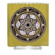 Diva Mandala Shower Curtain