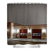 Mandan Fire Department Shower Curtain