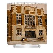 Mandan Jr High School 1 Shower Curtain