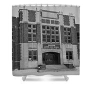 Mandan Jr High School Shower Curtain