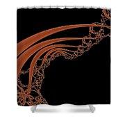 Mandel 3 Shower Curtain