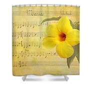 Mandevilla And Maria Shower Curtain