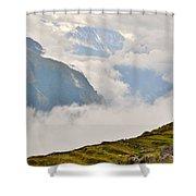 Nandi Devi Mountain - Himalayas Shower Curtain