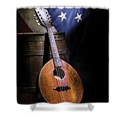 Mandolin America Shower Curtain
