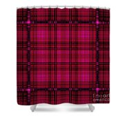 Mandoxocco-wallpaper-pink Shower Curtain
