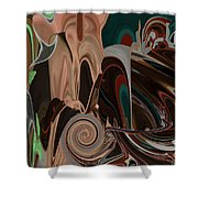 Maneater Shower Curtain