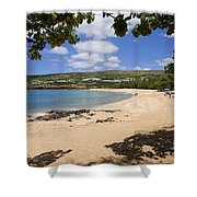 Manele Bay II Shower Curtain