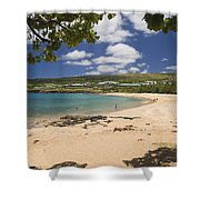 Manele Bay Shower Curtain