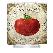 Mangia Tomato Shower Curtain