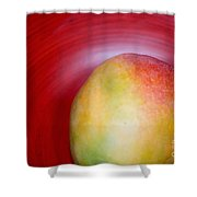 Mango Close-up Shower Curtain