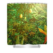 Mango Hill Shower Curtain