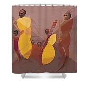 Mango Jazz Shower Curtain