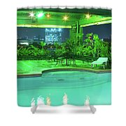 Mango Park Hotel Roof Top Pool Shower Curtain