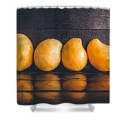 Ripe Mangoes Shower Curtain