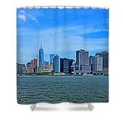Manhattan 027 Shower Curtain