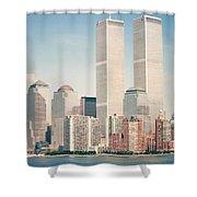 Manhattan Circa 1990 Shower Curtain
