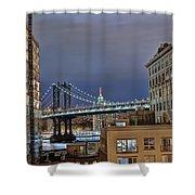 Manhattan Empire State Shower Curtain