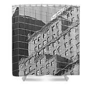 Manhattan Facades IIi Shower Curtain