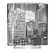 Manhattan From Madison Avenue Shower Curtain