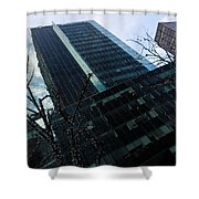 Manhattan Left Shower Curtain