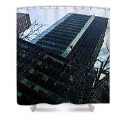 Manhattan Right Shower Curtain