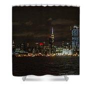 Manhattan Skyline 5 Shower Curtain