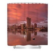 Manila At Sunset Shower Curtain