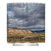 Manila Ranchland Shower Curtain