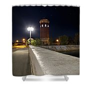 Manistique Water Tower Big Dipper -2293 Shower Curtain
