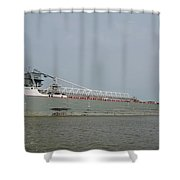 Manitoulin On The Maumee River Shower Curtain